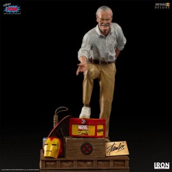 Marvel Deluxe Art Scale Statue 1/10 Stan Lee Iron Studios - 1