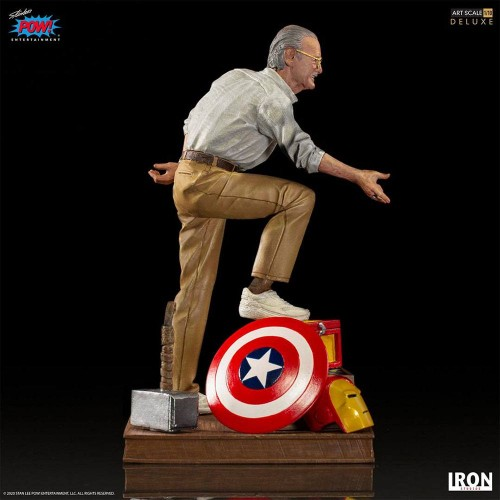 Marvel Deluxe Art Scale Statue 1/10 Stan Lee Iron Studios - 2