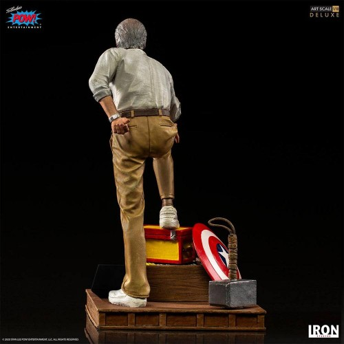 Marvel Deluxe Art Scale Statue 1/10 Stan Lee Iron Studios - 3