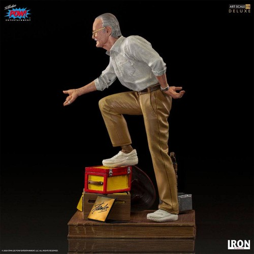 Marvel Deluxe Art Scale Statue 1/10 Stan Lee Iron Studios - 4