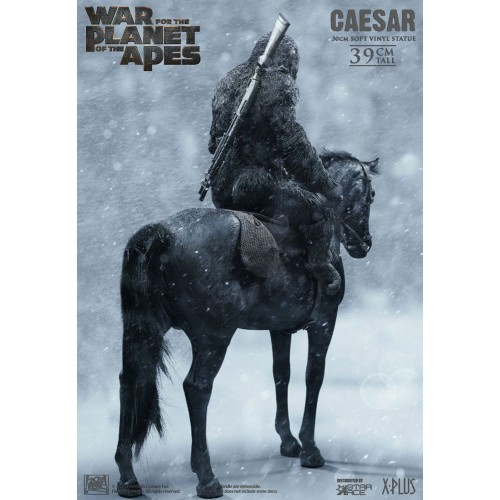 War for the Planet of the Apes Soft Vinyl Statue Caesar with Gun 39 cm Star Ace Toys - 4