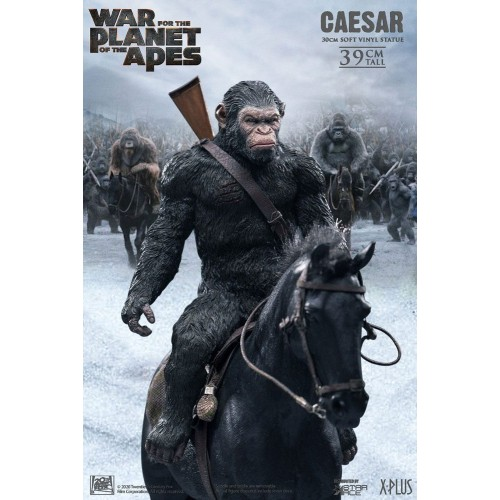 War for the Planet of the Apes Soft Vinyl Statue Caesar with Gun 39 cm Star Ace Toys - 5