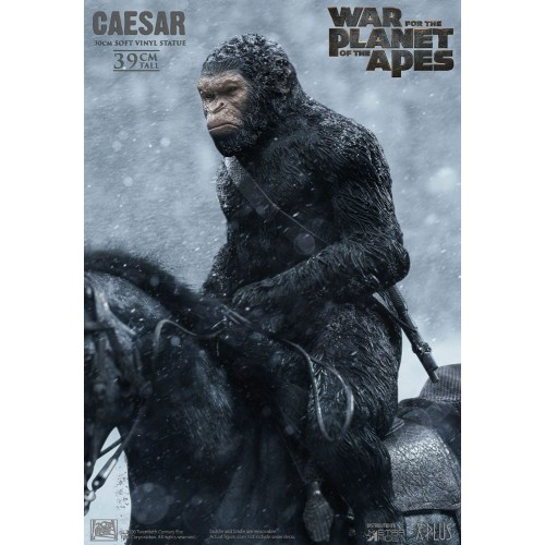 War for the Planet of the Apes Soft Vinyl Statue Caesar with Gun 39 cm Star Ace Toys - 6