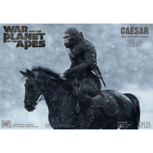 War for the Planet of the Apes Soft Vinyl Statue Caesar with Gun 39 cm Star Ace Toys - 7