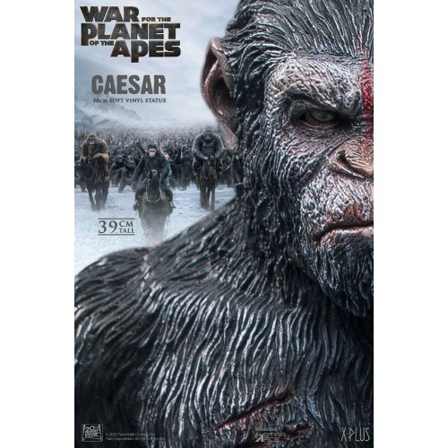 War for the Planet of the Apes Soft Vinyl Statue Caesar with Gun 39 cm Star Ace Toys - 8