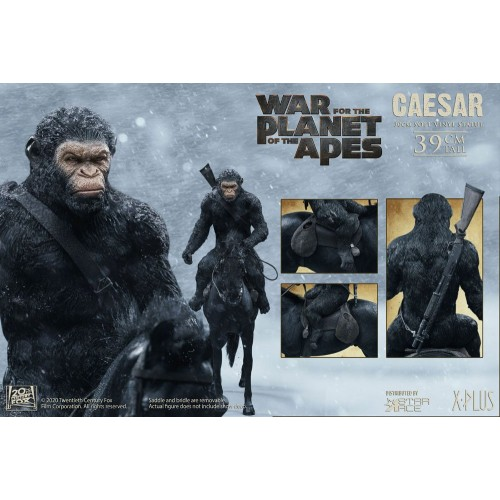 War for the Planet of the Apes Soft Vinyl Statue Caesar with Gun 39 cm Star Ace Toys - 9