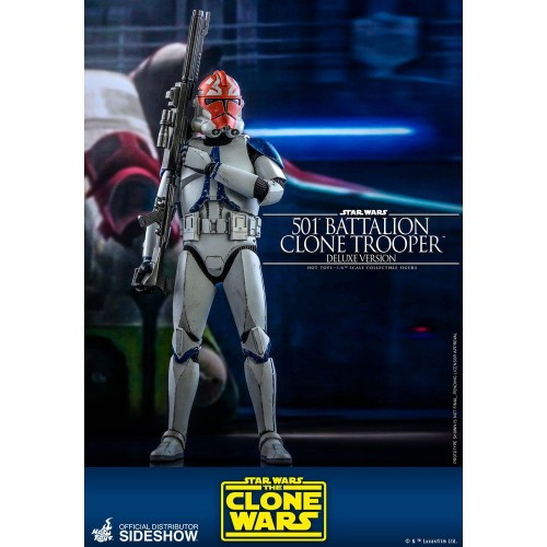 Star Wars The Clone Wars Action Figure 1/6 501st Battalion Clone Trooper (Deluxe) 30 cm Hot Toys - 4