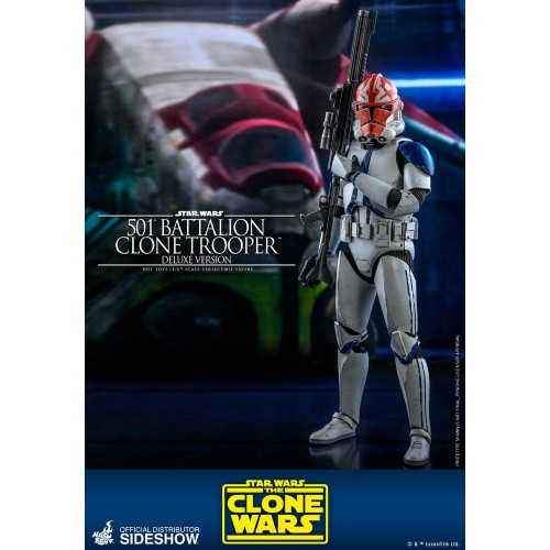 Star Wars The Clone Wars Action Figure 1/6 501st Battalion Clone Trooper (Deluxe) 30 cm Hot Toys - 5