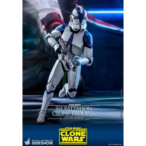 Star Wars The Clone Wars Action Figure 1/6 501st Battalion Clone Trooper (Deluxe) 30 cm Hot Toys - 7