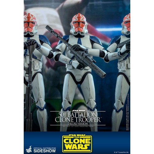 Star Wars The Clone Wars Action Figure 1/6 501st Battalion Clone Trooper (Deluxe) 30 cm Hot Toys - 9