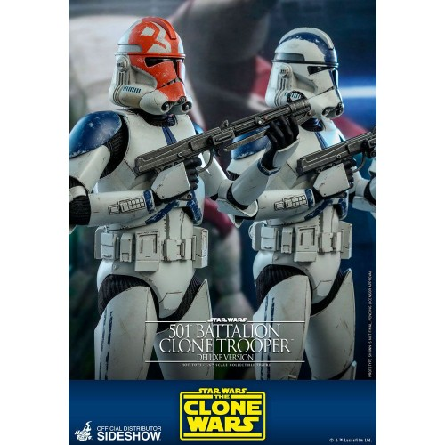 Star Wars The Clone Wars Action Figure 1/6 501st Battalion Clone Trooper (Deluxe) 30 cm Hot Toys - 11