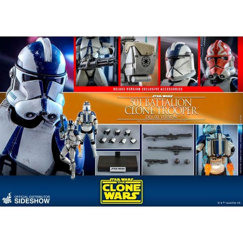 Star Wars The Clone Wars Action Figure 1/6 501st Battalion Clone Trooper (Deluxe) 30 cm Hot Toys - 19