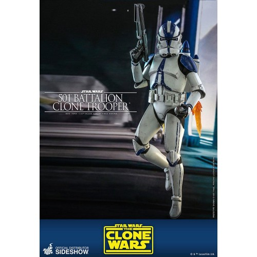 Star Wars The Clone Wars Action Figure 1/6 501st Battalion Clone Trooper 30 cm Hot Toys - 2