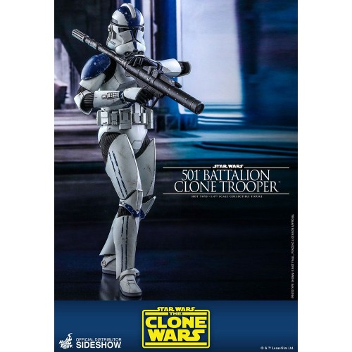 Star Wars The Clone Wars Action Figure 1/6 501st Battalion Clone Trooper 30 cm Hot Toys - 5