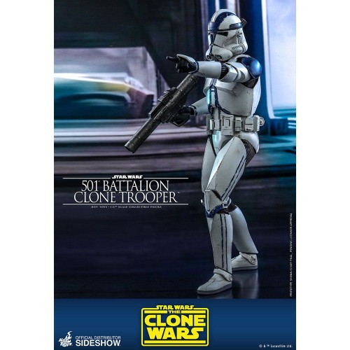 Star Wars The Clone Wars Action Figure 1/6 501st Battalion Clone Trooper 30 cm Hot Toys - 6