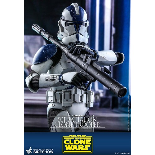 Star Wars The Clone Wars Action Figure 1/6 501st Battalion Clone Trooper 30 cm Hot Toys - 8