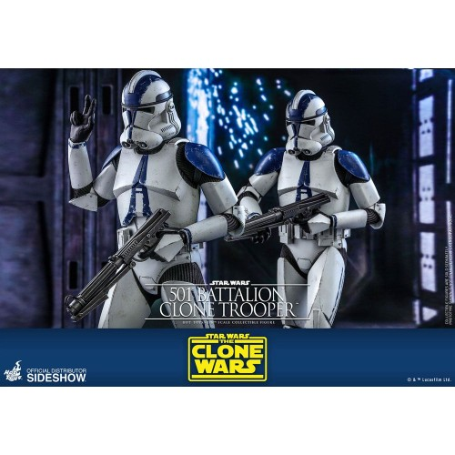 Star Wars The Clone Wars Action Figure 1/6 501st Battalion Clone Trooper 30 cm Hot Toys - 9
