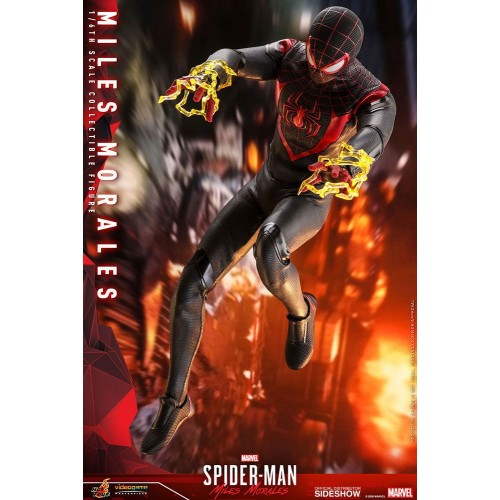Marvel's Spider-Man: Miles Morales Video Game Action Figure 1/6 Miles Morales 30 cm Hot Toys - 3