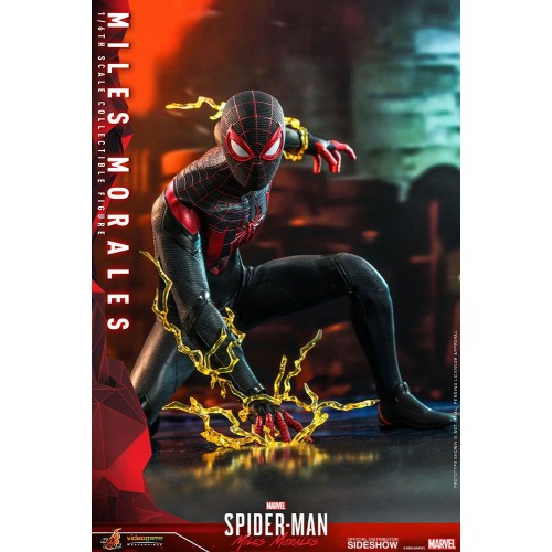 Marvel's Spider-Man: Miles Morales Video Game Action Figure 1/6 Miles Morales 30 cm Hot Toys - 4