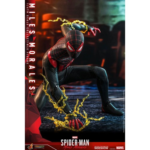 Marvel's Spider-Man: Miles Morales Video Game Action Figure 1/6 Miles Morales 30 cm Hot Toys - 5