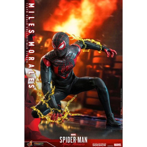 Marvel's Spider-Man: Miles Morales Video Game Action Figure 1/6 Miles Morales 30 cm Hot Toys - 6