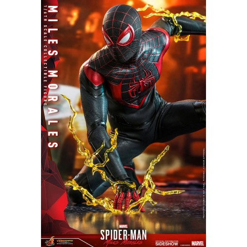 Marvel's Spider-Man: Miles Morales Video Game Action Figure 1/6 Miles Morales 30 cm Hot Toys - 7