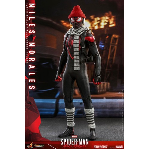 Marvel's Spider-Man: Miles Morales Video Game Action Figure 1/6 Miles Morales 30 cm Hot Toys - 9