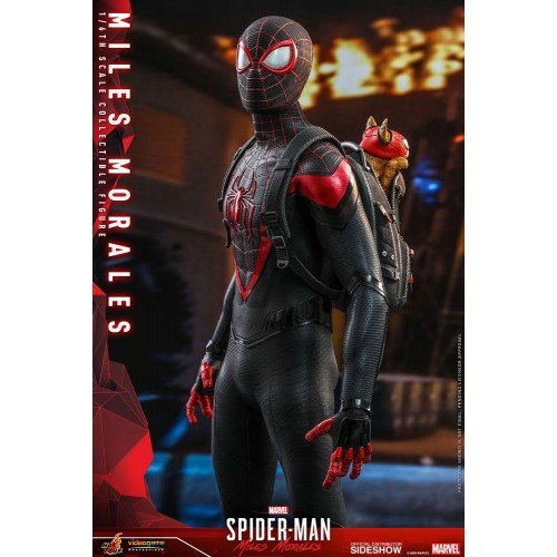 Marvel's Spider-Man: Miles Morales Video Game Action Figure 1/6 Miles Morales 30 cm Hot Toys - 10