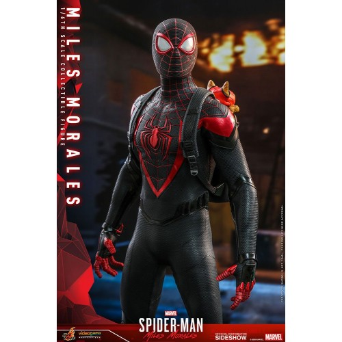 Marvel's Spider-Man: Miles Morales Video Game Action Figure 1/6 Miles Morales 30 cm Hot Toys - 11