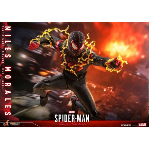 Marvel's Spider-Man: Miles Morales Video Game Action Figure 1/6 Miles Morales 30 cm Hot Toys - 13