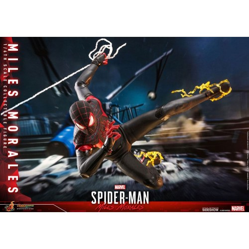 Marvel's Spider-Man: Miles Morales Video Game Action Figure 1/6 Miles Morales 30 cm Hot Toys - 14