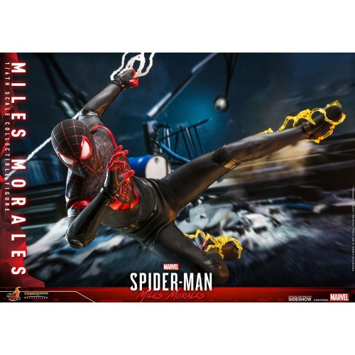 Marvel's Spider-Man: Miles Morales Video Game Action Figure 1/6 Miles Morales 30 cm Hot Toys - 15