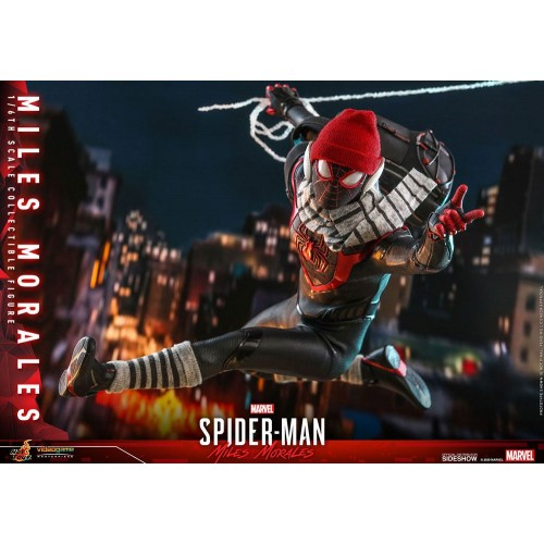 Marvel's Spider-Man: Miles Morales Video Game Action Figure 1/6 Miles Morales 30 cm Hot Toys - 21