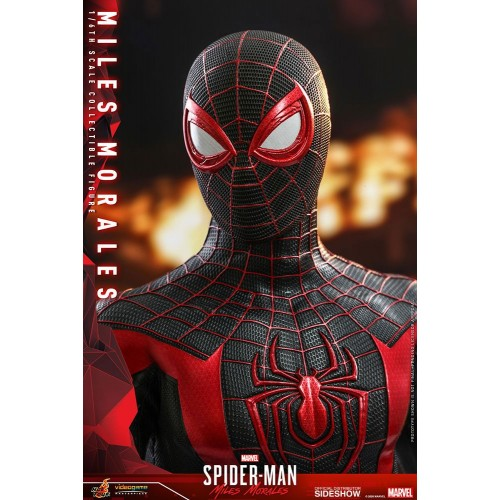 Marvel's Spider-Man: Miles Morales Video Game Action Figure 1/6 Miles Morales 30 cm Hot Toys - 24