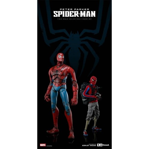 3A Action Figure 2-Pack Peter Parker & Spider-Man Classic Edition 25 - 38 cm 3A - 1
