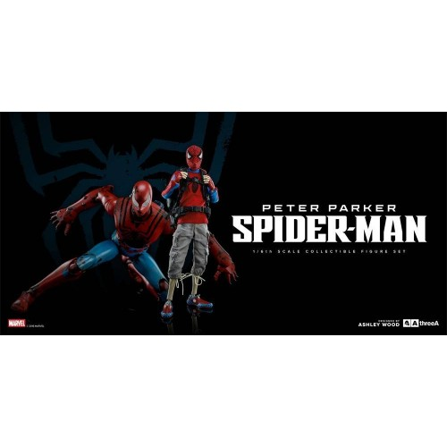 3A Action Figure 2-Pack Peter Parker & Spider-Man Classic Edition 25 - 38 cm 3A - 7