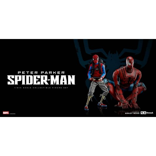 3A Action Figure 2-Pack Peter Parker & Spider-Man Classic Edition 25 - 38 cm 3A - 8