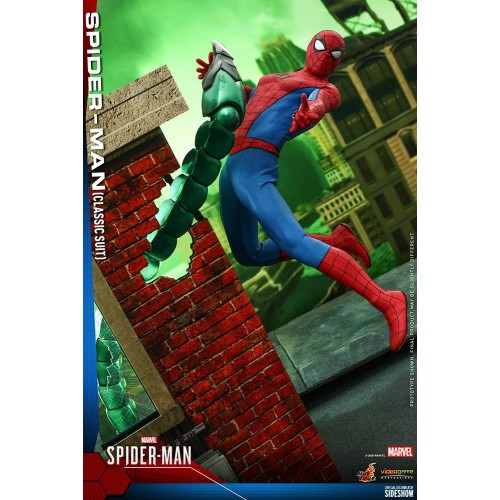 Marvel's Spider-Man Video Game Action Figure 1/6 Spider-Man (Classic Suit) 30 cm Hot Toys - 3