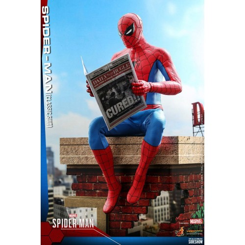 Marvel's Spider-Man Video Game Action Figure 1/6 Spider-Man (Classic Suit) 30 cm Hot Toys - 9