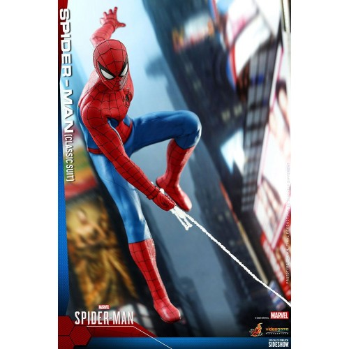 Marvel's Spider-Man Video Game Action Figure 1/6 Spider-Man (Classic Suit) 30 cm Hot Toys - 10