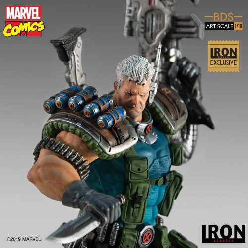 Marvel Comics BDS Art Scale Statue 1/10 Cable Event Exclusive 29 cm Iron Studios - 3