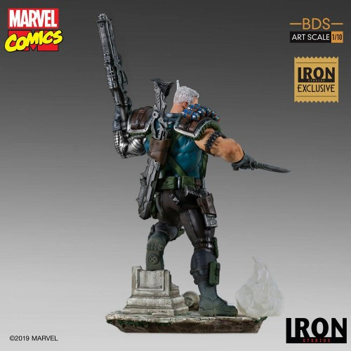 Marvel Comics BDS Art Scale Statue 1/10 Cable Event Exclusive 29 cm Iron Studios - 5