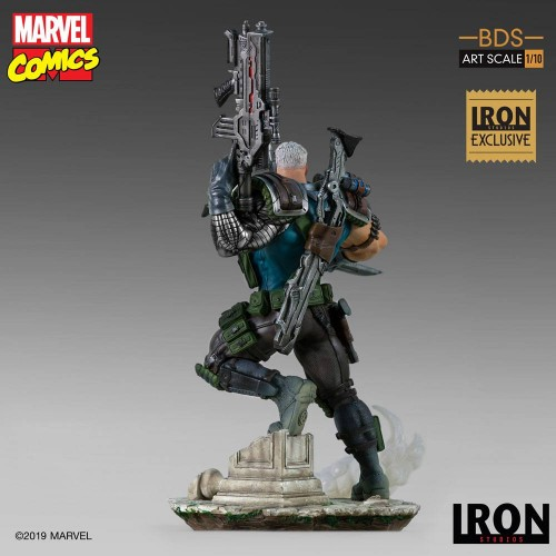 Marvel Comics BDS Art Scale Statue 1/10 Cable Event Exclusive 29 cm Iron Studios - 6