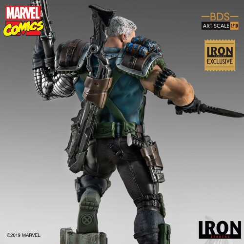 Marvel Comics BDS Art Scale Statue 1/10 Cable Event Exclusive 29 cm Iron Studios - 8