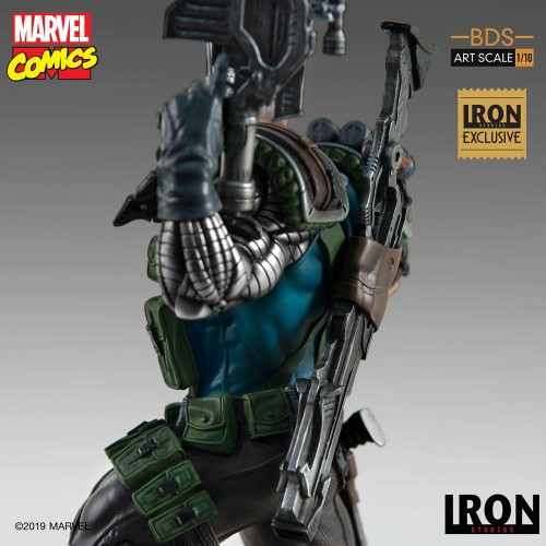 Marvel Comics BDS Art Scale Statue 1/10 Cable Event Exclusive 29 cm Iron Studios - 9