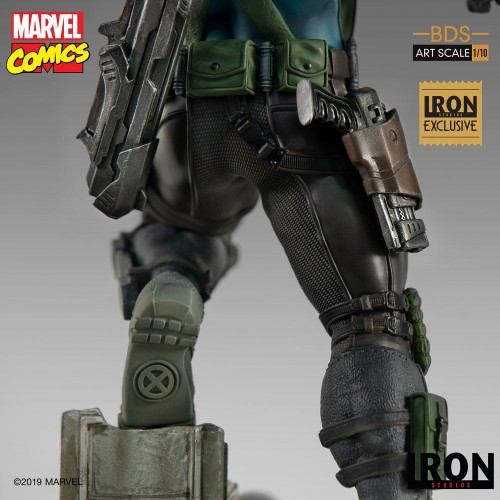 Marvel Comics BDS Art Scale Statue 1/10 Cable Event Exclusive 29 cm Iron Studios - 12