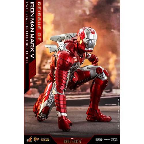 Iron Man 2 Movie Diecast Action Figure 1/6 Iron Man Mark V 32 cm Hot Toys - 4