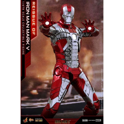 Iron Man 2 Movie Diecast Action Figure 1/6 Iron Man Mark V 32 cm Hot Toys - 5