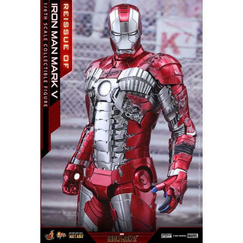Iron Man 2 Movie Diecast Action Figure 1/6 Iron Man Mark V 32 cm Hot Toys - 6