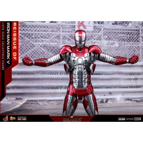 Iron Man 2 Movie Diecast Action Figure 1/6 Iron Man Mark V 32 cm Hot Toys - 7